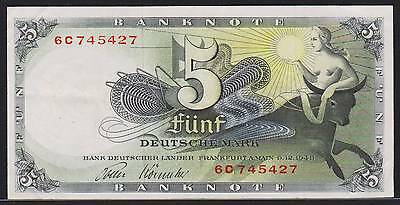 """Banknote Germany Federal Republic - 5 Mark BDL 1948 """"Europa"""" - P. 13"""