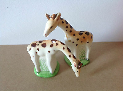 Vintage 1950's Giraffe Salt & Pepper Shakers JAPAN