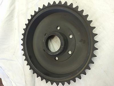 Rear sprocket Brake drum Bsa