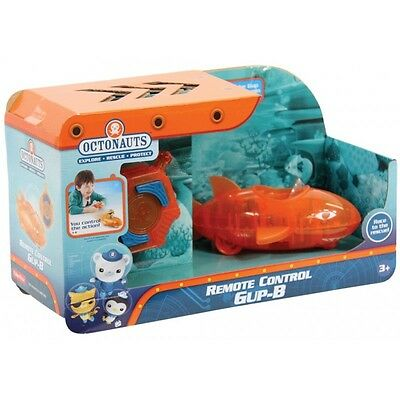 Fisher Price Octonauts  Remote Controlled Gup B R/c Pod Playset Brand New Dgd59