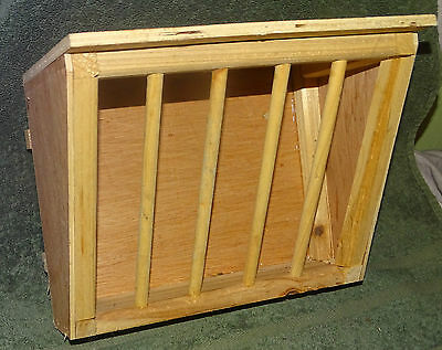 Large Hay rack for Rabbit, Guinea pig NOS. wooden