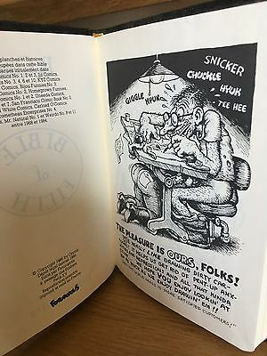 Bible of Filth R. Crumb Rare french book underground