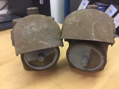 A Pair of WW2 Home front Blackout cycle lamps