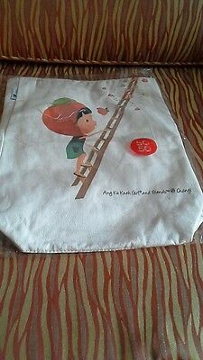 BN Collectible Singapore SG50 Reversible Changi Airport Canvas Tote Bag