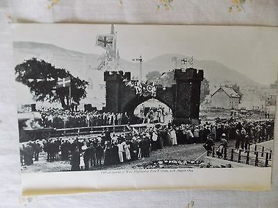 Railway Photo 8.5 X 4.75 Inch Official Opening West Highland Fort William 1894