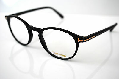 Tom Ford FT5294 001 Mens Round Designer Glasses