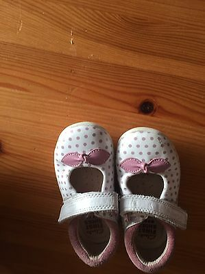 Clarks Baby Shoes Size 3f