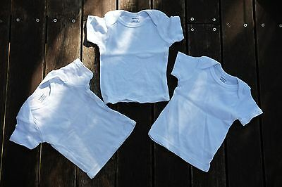 3 x Brand NEW Gerber Baby Tops T-shirts size 3-6 months 00