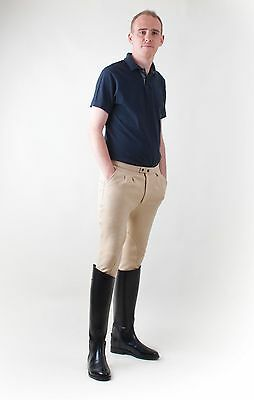 Rhinegold Mens Breeches - cotton lycra mix