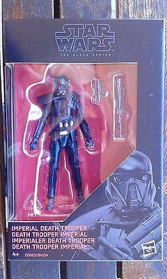 "Star Wars Imperial Death Trooper 3.75"" Black Series"