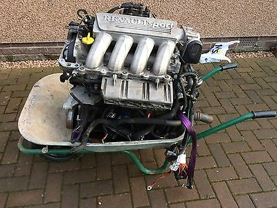 Renault Clio II Phase 2 F4r 172 Engine