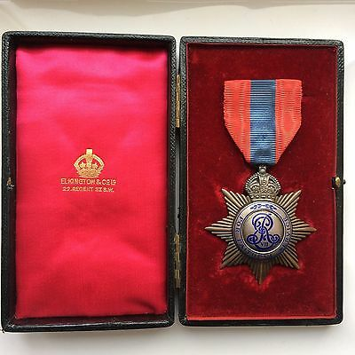 Edward VII Imperial Service Medal (Star Type) Joseph Finch