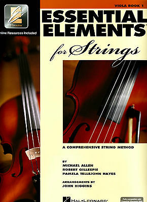 Essential Elements for Strings Book 1 - Viola EE Interactive - 868050  ***NEW
