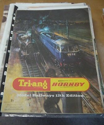 Tri-ang / Hornby  12th Edition Catalogue 1966  (nice condition)