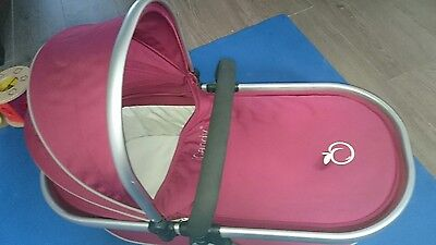 icandy peach carrycot with raincover