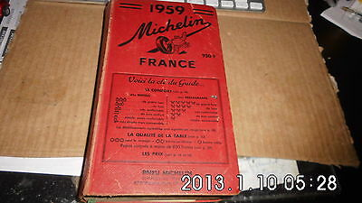 guide MICHELIN rouge - 1959 -