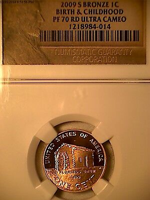 2009 S Lincoln Cent Proof 70 Set