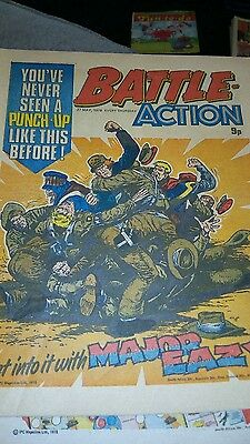 Battle Action Comic - 27th May 1978