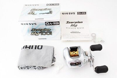 SHIMANO Scorpion mg 1001 Left handed Baitcasting Reel [Excellent]  from Japan