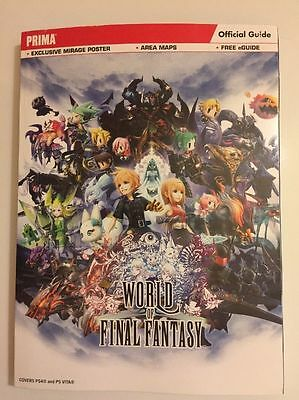 Guide World Of Final Fantasy Ps4
