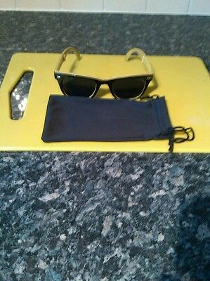 Strongbow sunglasses  fold away UV 400 protection with cloth case