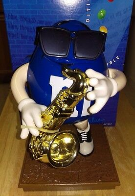 Limited Edition Blues Cafe M&M Candy Dispenser
