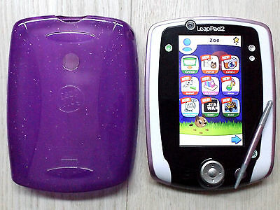 Leapfrog LeapPad 2 - White / Pink Trim Tablet Console - £450+ Apps / Skin (Zoe)