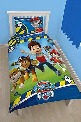 Paw Patrol Rescue Reversible Single Duvet