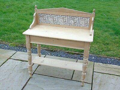 Antique Pine Washstand Fully Stripped