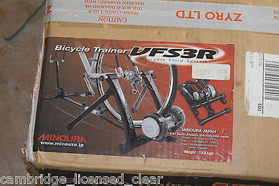 Minoura VFS-3R Turbo trainer NEW, fluid or magnetic ADJUSTABLE SUPPORT