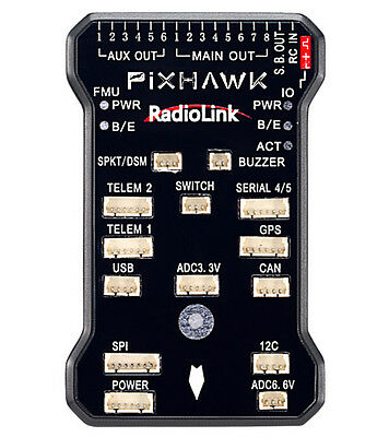 Radiolink PIX Flight Controller & Power Module Buzzer 8G TF for AT9/AT10 Remote