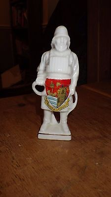 crested china fisherman scarborough crest