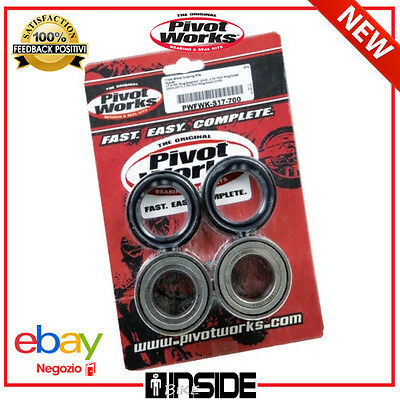 Cuscinetti Ruota Anteriore Kit Completo Per Yamaha Grizzly 700 Eps 08 - 11