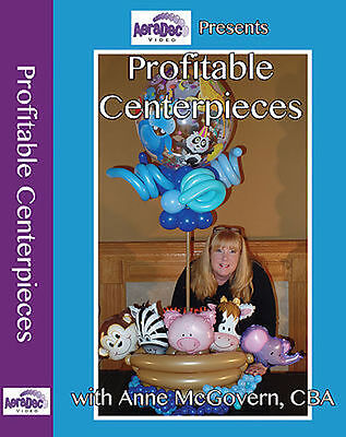 Profitable Centerpieces Balloon DVD
