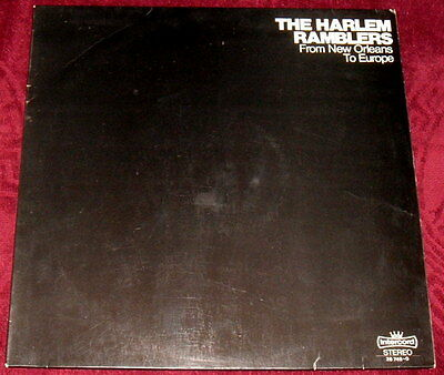 The Harlem Ramblers..from New Orleans To Europe..vinyl Lp Ex Jazz Dixieland