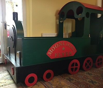 Bespoke Child's Train Bed, One Of A Kind