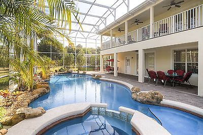 Fabulous Florida Golf Villa with Large Resort Style Pool and Conservation Views.