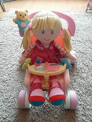 Fisher-Price My Stroll & Play Walker with Doll