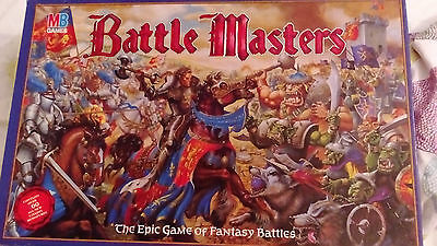 Battle Masters – MB Games Workshop Board Game (GB, 1992 edition)