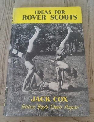 Ideas for River Scouts - Jack Cox Vintage Scouting
