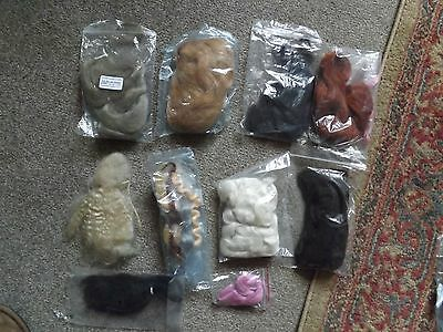 ** Reduced **reborn Baby Hair Mohair Job Lot