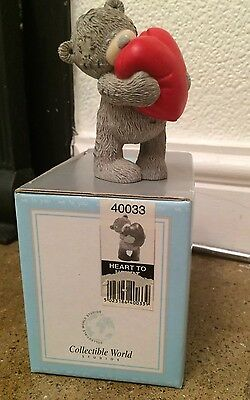 Me To You Bear Heart To Heart 40033 Boxed