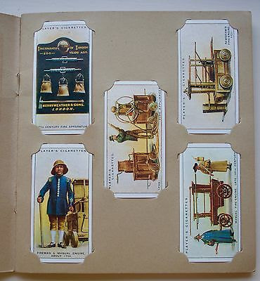 Set of 50 John Players Fire Fighting Appliances cigarette cards printed 1991
