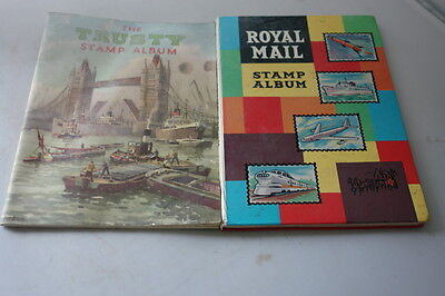 The Trusty Stamp Album And Royal Mail Stamp Album