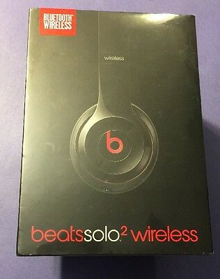 Beats by Dr. Dre Solo2 Wireless On Ear Bluetooth Headphone *BLACK Edition* NEW