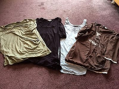 Maternity Clothes Bundle Size 10/12/14 Loads Of Items