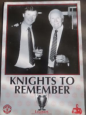 """Mamchester United,busby & Ferguson,""""knights To Remember"""""""