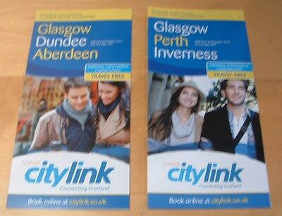 Scottish Citylink Bus Timetables -  Glasgow To Perth Inverness Aberdeen Dundee