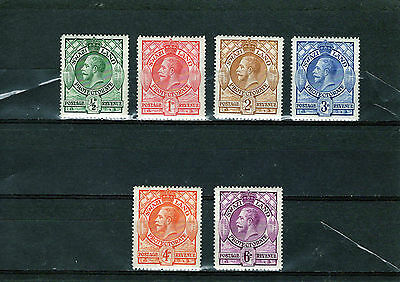SWAZILAND 1933 KGV issues to 6d , Mtd MINT