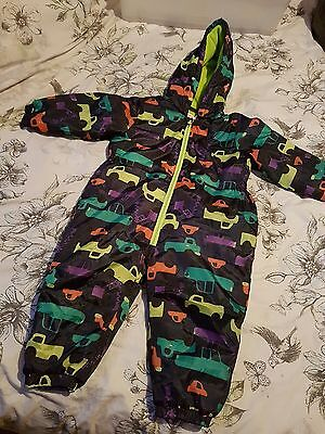 Debenhams Bluezoo all in one boys toddler coat age 18-24 months